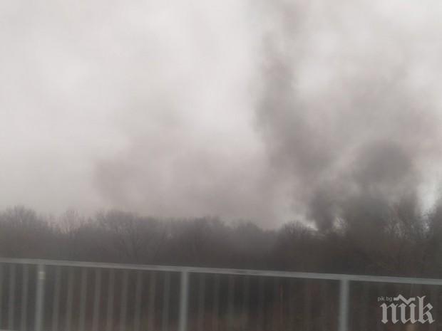 Голям пожар лумна в Бургас