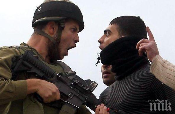 ВЕЧНИТЕ ВРАГОВЕ: 46 палестинци ранени при сблъсъците с израелската армия на Ивицата Газа и Западния бряг