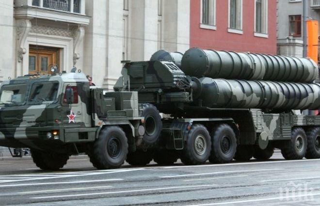 Втори руски дивизион със зенитно-ракетни системи С-400 започна бойно дежурство в Крим
