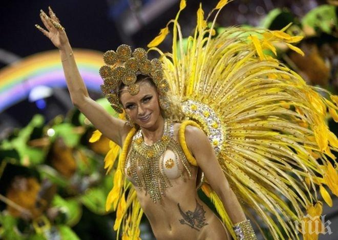 Около 1,5 милиона туристи от цял свят се очакват на карнавала в Рио де Жанейро