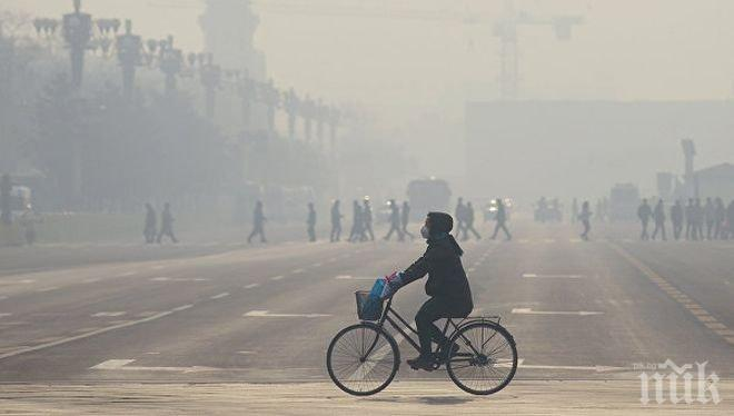 В Македония се вдигат на протест заради мръсния въздух