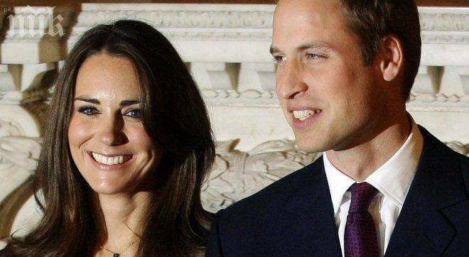 Кейт и Уилям очакват бебето си на 13 юли