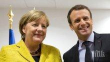 Меркел и Еманюел Макрон заявиха, че ще проведат европейски реформи