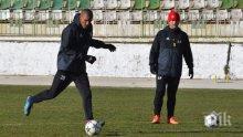 Само четирима от ЦСКА-София тренират в Сандански