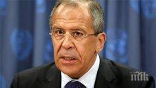 Лавров скочи : Провалът на иранското ядрено споразумение е тревога за международната безопасност