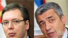 СЪРБИЯ НАСТРЪХНА! Вучич се ядоса: Убийството на Оливер Иванович в Косово е терористичен атентат