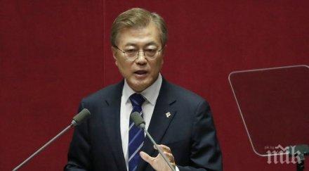 Президентът Мун Дже-ин заслужава шанс да постигне мир на Корейския полуостров