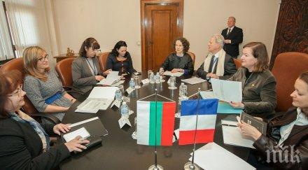 Екатерина Захариева: По време на европредседателството ще се фокусираме върху важните за България въпроси