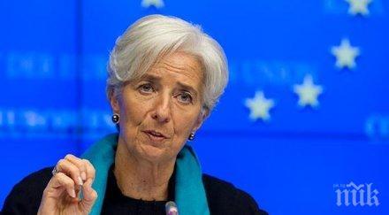 Призив! Кристин Лагард поиска от Германия да увеличи публичните си разходи