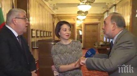 ГЕРБ VS. БСП! Славчо Велков и Спас Гърневски сътвориха голям екшън заради вота на недоверие