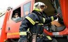 ОГНЕН АД! Пожар пламна в старото военно училище във Велико Търново