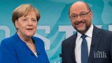 Меркел на крачка от съставяне на правителство