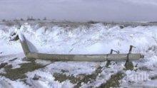 Ураганен вятър пречупи електрически стълбове в Благоевградско