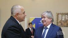 Премиерът Бойко Борисов се срещна с руския посланик Анатолий Макаров