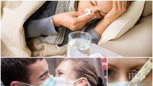 ВНИМАНИЕ! До 10 дни - грипна епидемия и в София!
