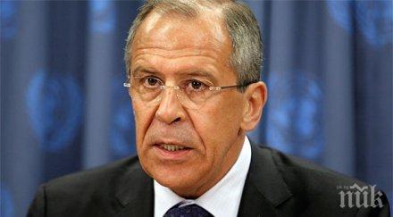 Лавров: Русофобията на Запада е по-лоша, отколкото по време на Студената война