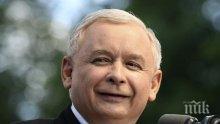 Качински: Полша няма да предаде решението за съдебните си реформи на съда