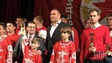 Кубрат Пулев награди най-добрите спортисти на ЦСКА