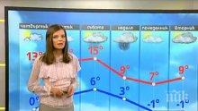 СМЯХ В ЕФИР! Наследничката на Деси Банова зацикли на прогнозата за времето! Виктор Николаев я взе на подбив