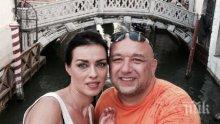ЛЮБОВНО ВДЪХНОВЕНИЕ! Виктория Петрова купува четки и бои на министър Кралев