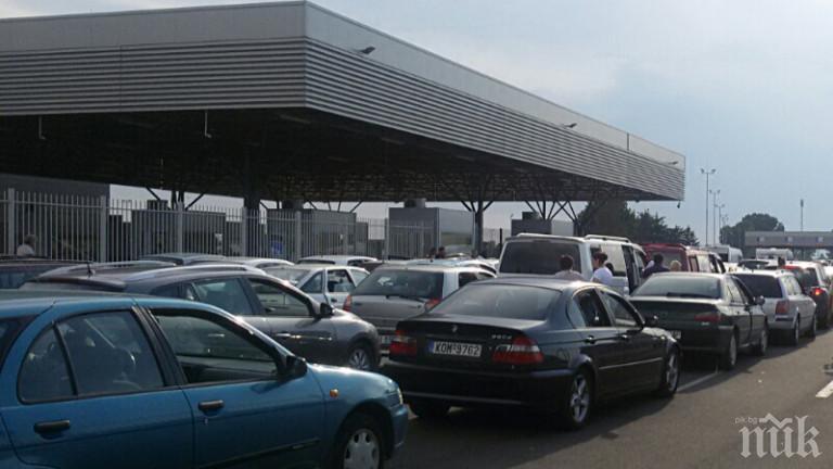 Интензивен трафик затруднява движението на ГКПП Капитан Андреево и на Лесово