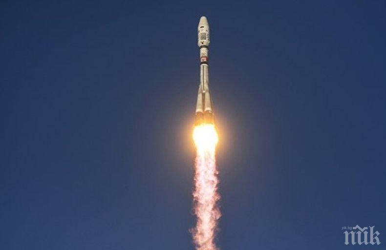 """От космодрума """"Восточний"""" бе изстреляна ракета-носител """"Съюз-2.1а"""""""