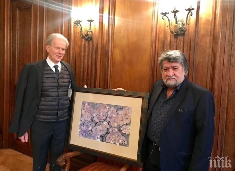 Френският посланик с благодарности към Вежди Рашидов