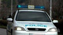 Екшън в Пловдив! Лек автомобил удари патрулка и я прати в дърво (СНИМКА)