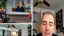 Българският актьор Димитър Маринов разказва как получи роля във филм на Спилбърг