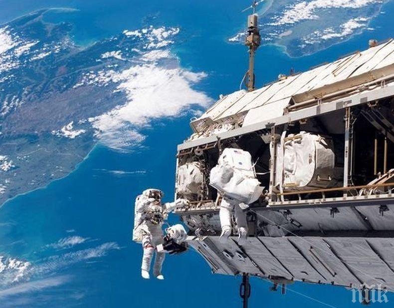 Рекорд! Руснаци с цял работен ден в открития Космос