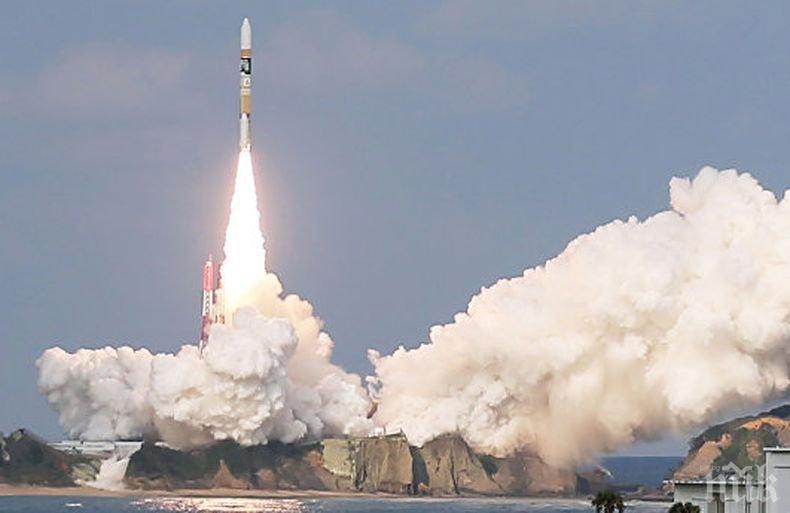 Япония изстреля най-малката ракета-носител в света (ВИДЕО)