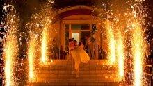 ОГНЕН ЕКШЪН! Пожар избухна на сватба в Пловдив