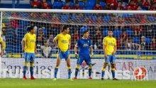 Лас Палмас измъкна сблъсъка на опашкарите в испанския шампионат срещу Малага
