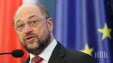 Шулц се отказва от лидерския пост на Германската социалдемократическа партия