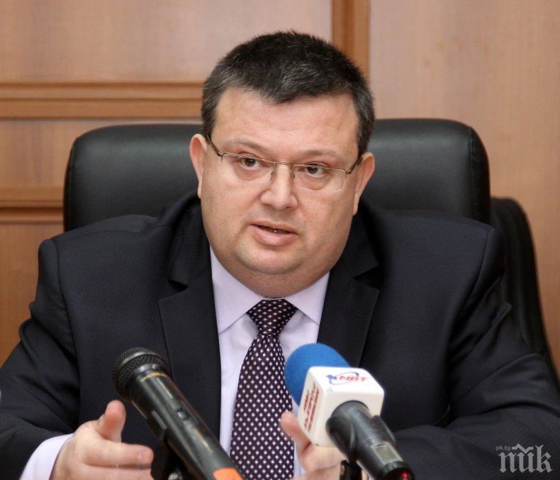 ЕКСКЛУЗИВНО! Цацаров: Имаме подозрения кой е поръчал отвличането на Адриан Златков