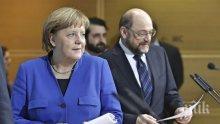 Ангела Меркел: Желая на Мартин Шулц, по човешки, всичко добро