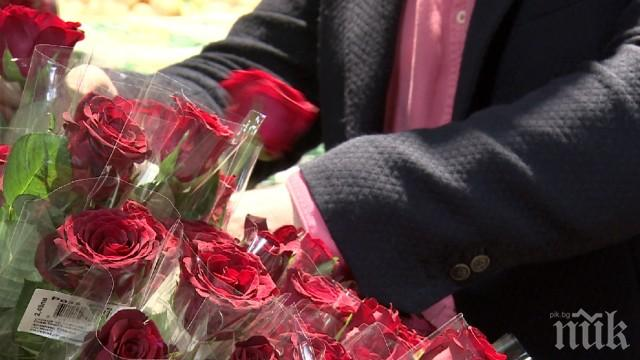 Парадокс! В страната на розите купуваме цветя от Кения за Деня на влюбените