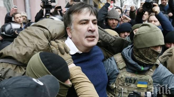 Депортираха Михаил Саакашвили от Украйна в Полша