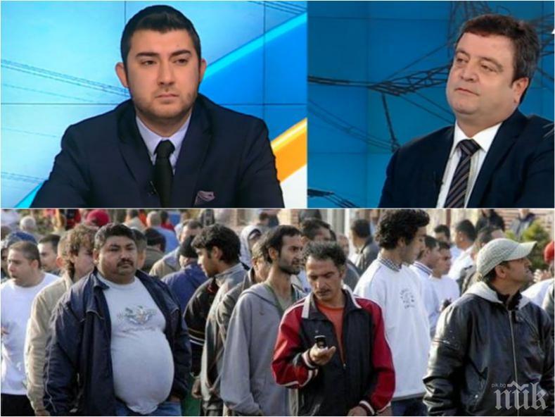 УЖАСЯВАЩО! Цветелин Кънчев за циганите: След 30 г. ни очакват 3 млн. роми в България, неграмотни мангасари