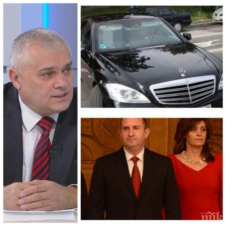 ЕКСКЛУЗИВНО! Вътрешният министър коментира имало ли е стоп палки и гонка с Деси Радева! Ето какво каза Валентин Радев (ОБНОВЕНА)