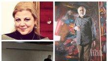 СКАНДАЛ! Вандали замазаха с фасаген пано на именития художник Енчо Пиронков в Пловдив