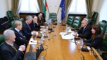 ПЪРВО В ПИК! Бойко Борисов се среща с чуждестранни журналисти (СНИМКИ)