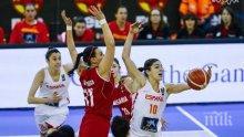 Очаквано! Загуба с 40 точки от Испания за баскетболистките ни
