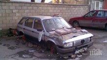 Спрени от движение стари коли блокират софийските улици