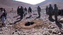 Талибани убиха с камъни афганистанец, обвинен в прелюбодейство