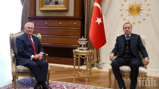 Важна визита! Рекс Тилърсън пристига на посещение в Турция