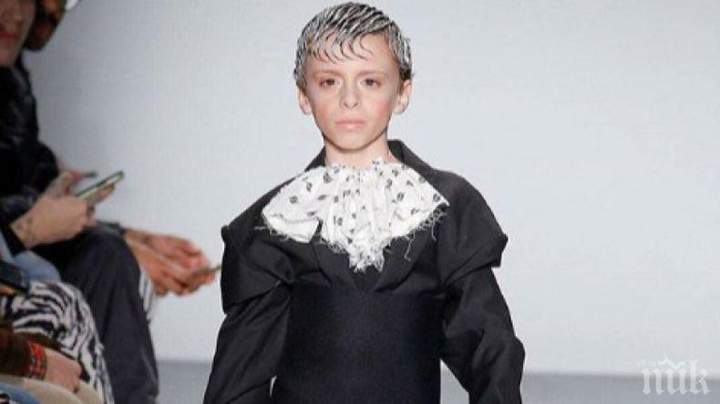 ИЗВРАЩЕНИЕ! 10-годишен трансджендър се превърна в звезда, изуми света с обърканата си сексуалност (СНИМКИ)
