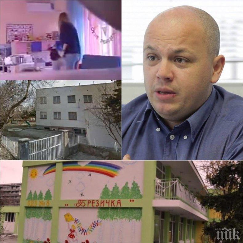 ЕКСКЛУЗИВНО В ПИК! Александър Симов с горещ коментар за насилието в детските градини