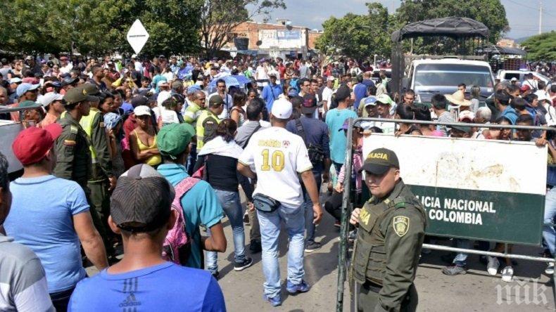 Колумбия алармира: Венецуела е пред хуманитарна криза