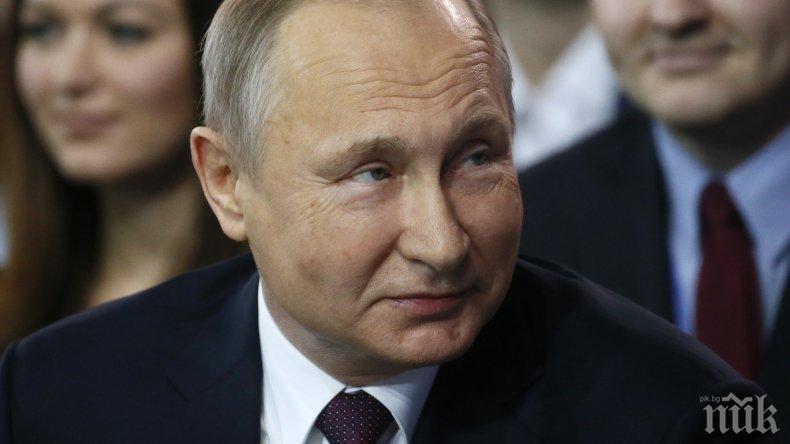 ПРЕДИЗВЕСТЕНА БИТКА! Путин отказа участие в предизборните дебати